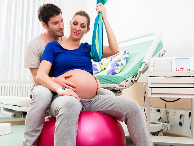 Les équipements nécessaires à la préparation d'un accouchement sans douleur